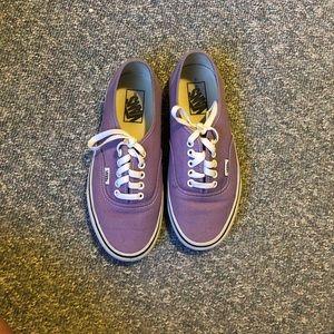 Purple Vans!!